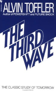 The Third Wave: a masterpiece about the future, or rather the present of current times, since the book was published in 1980. Highly recommended!