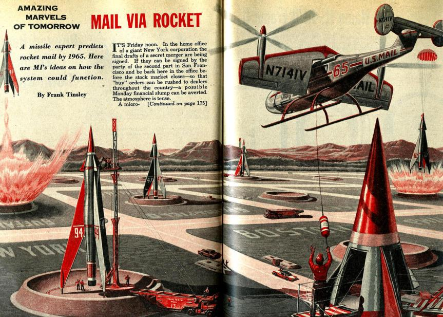 Rocket Mail: When Technologies Fail to Rise